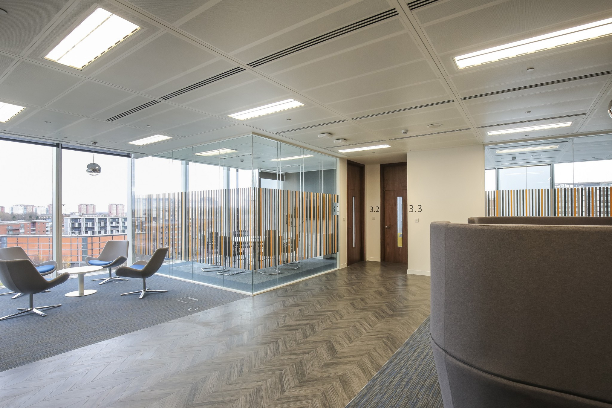 HS2 HQ: Cat b fit out of offices