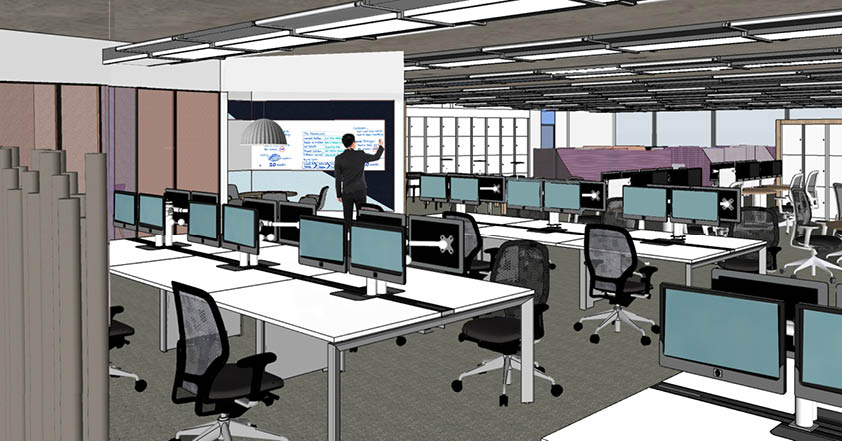 Willmott Dixon Interiors to create new offices for the